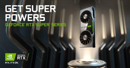 NVIDIAが新型GPU「GeForce RTX SUPER シリーズ」発表、最速のゲーミング性能を誇り同クラスのGPUを凌駕する電力効率