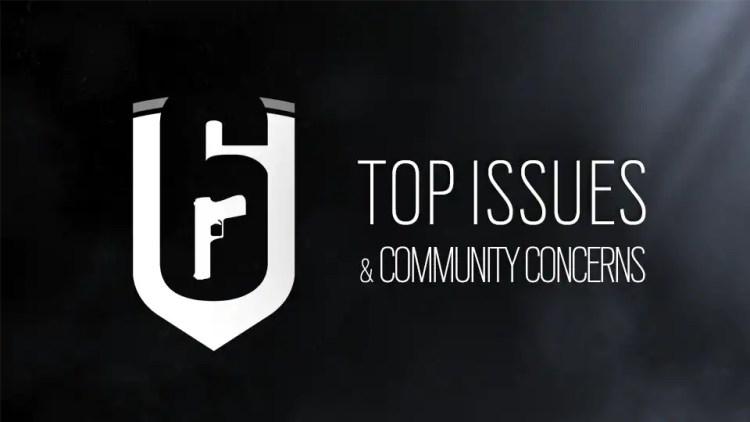 レインボーシックス シージ:話題になっている「バリケードの瓦礫」や「Pick & Ban」など、10 個の重大バグとコミュニティの要望