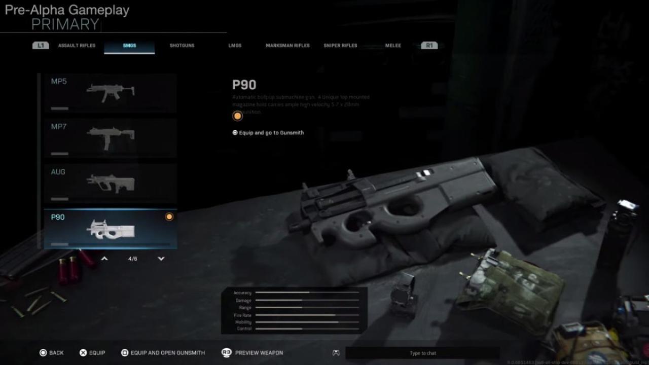 『Call of Duty:Modern Warfare』プレアルファ版