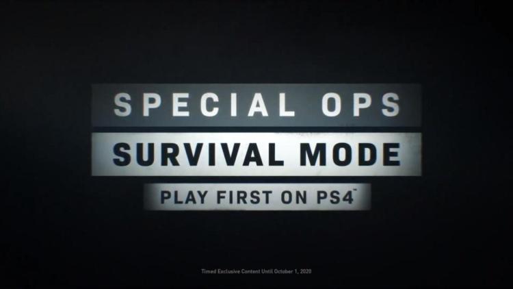 CoD:MW:約11ヶ月のPS4時限独占モード「スペシャルオプス:サバイバル」はあくまで「スペシャルオプス」の追加コンテンツ、IWが混乱するファンへ明示