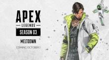 エーペックスレジェンズ:シーズン3「メルトダウン」10月2日より開始、新レジェンド「クリプト」登場