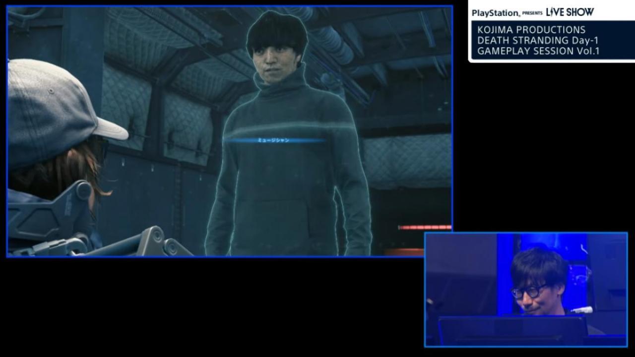 三浦大知氏はミュージシャンとしてゲームに登場