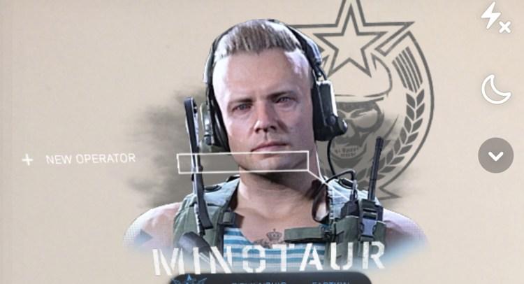 CoD:MW:未発表オペレーター「Minotaur」発見、スペツナズ所属のロシア人兵士