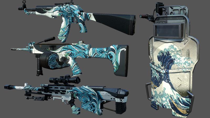 新規のレア銃器