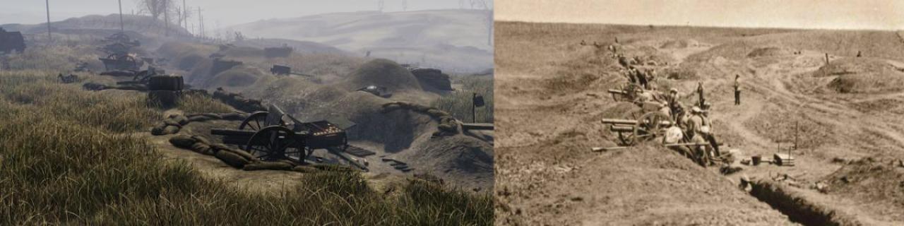 第一次世界大戦を描いたリアル志向ゲーム『Tannenberg』に新マップ「Ukraine」登場 迫撃砲の防衛ライン