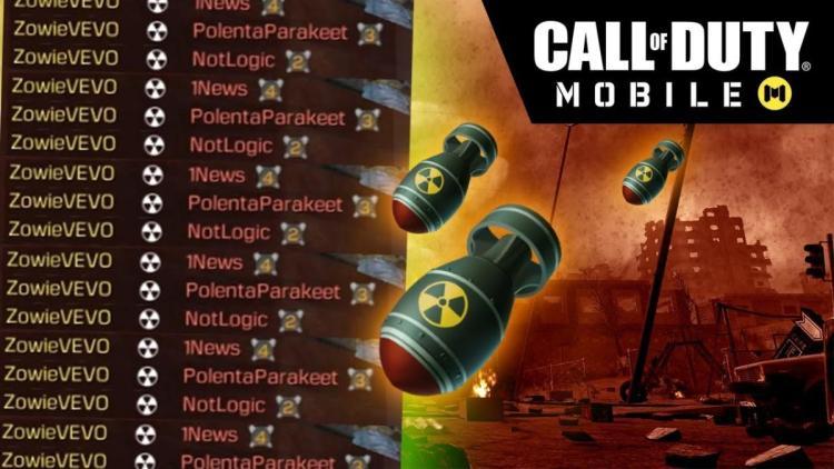 [速報] アプリ版無料CoD『Call of Duty: Mobile』:敵を全滅させる最強キルストリーク「アトミックボム(核)」確認