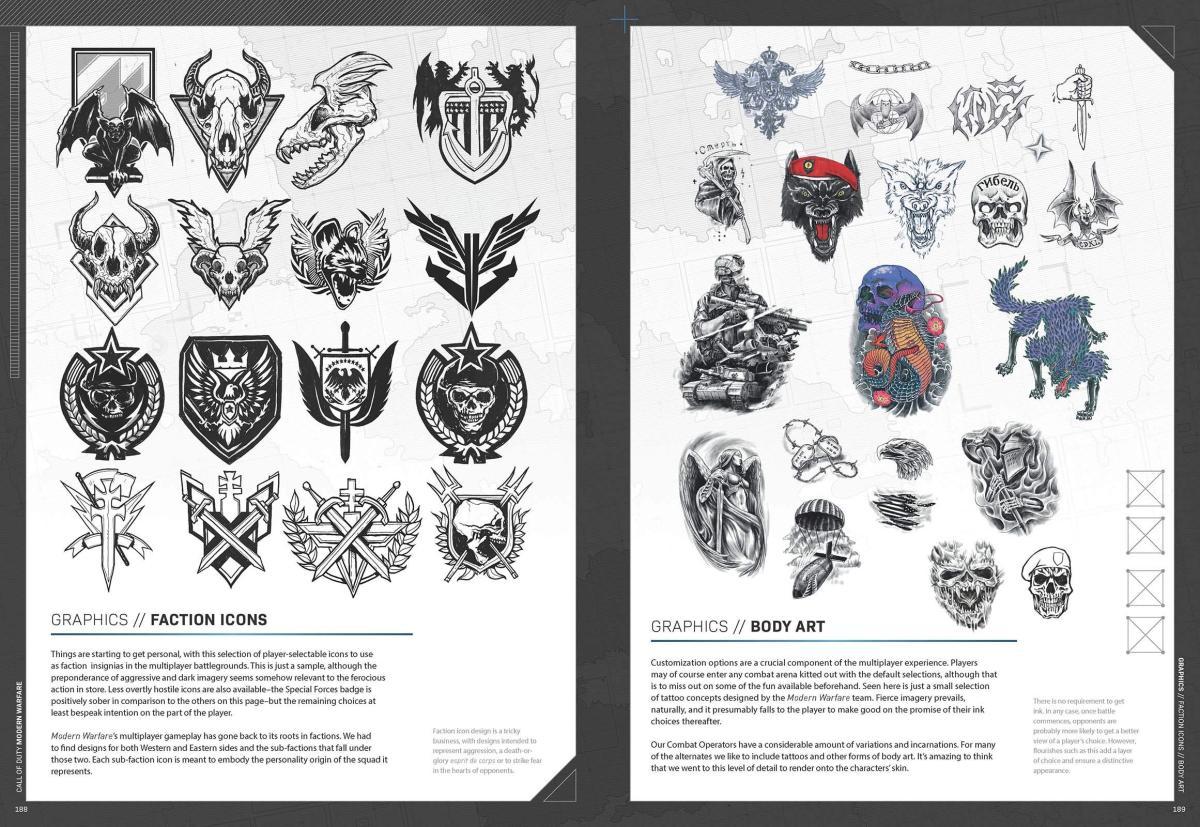 CoD:MW:公式メイキングアートブック発売、限定オペレーションスキンのコードも付属