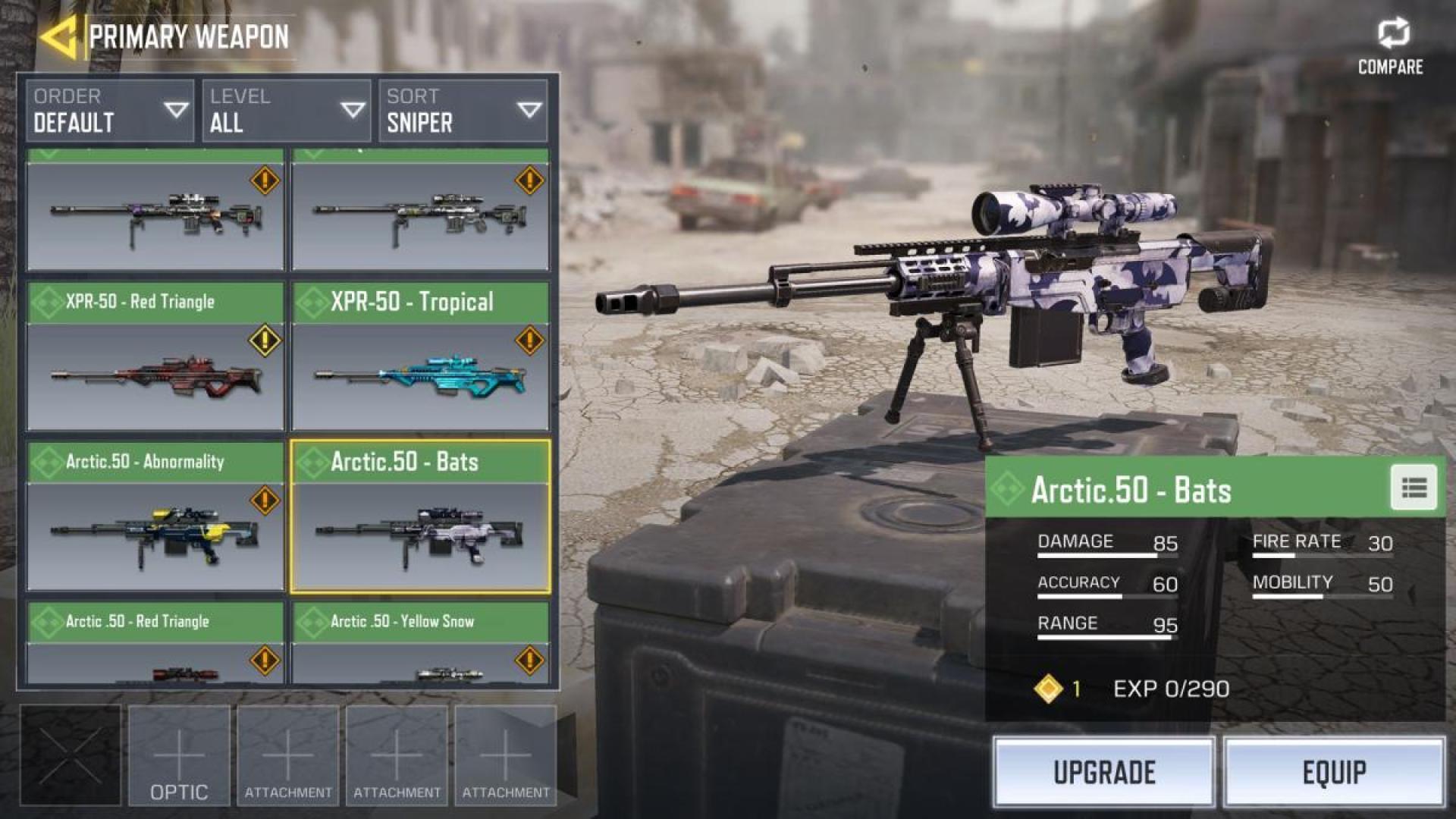 スナイパーライフル「Arctic.50」