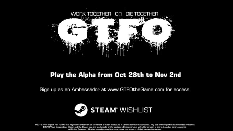 4人協力ホラーFPS『GTFO』:2回目のアルファテストを10月31日から実施、参加者募集中