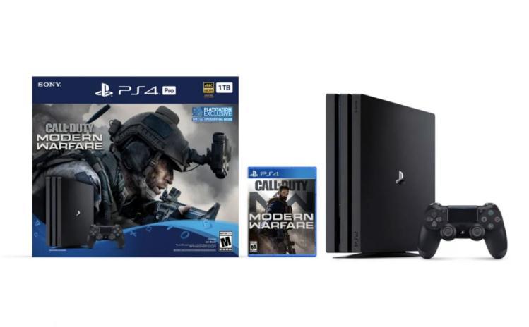 CoD:MW:PS4 & PS4 Proとのバンドル版が一部の国で発表、PS4 Proでの4K対応はアップスケールに