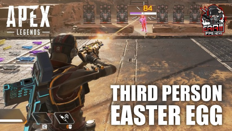 エーペックスレジェンズ:射撃訓練場で三人称視点に切り替わるイースターエッグ