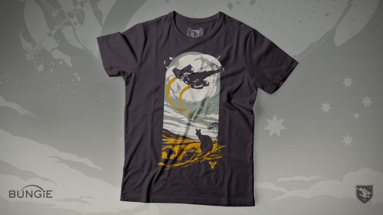 Destiny 2: オーストラリア火災への支援Tシャツが販売開始、売上はすべて寄付