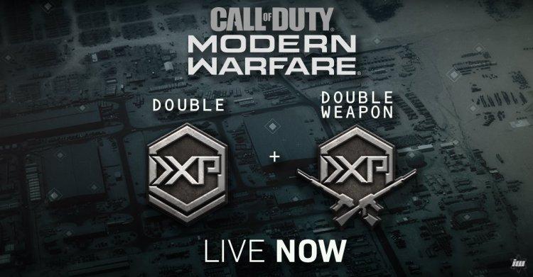CoD:MW: ダブルXPとダブル武器XP開催中、1月22日午前3時まで