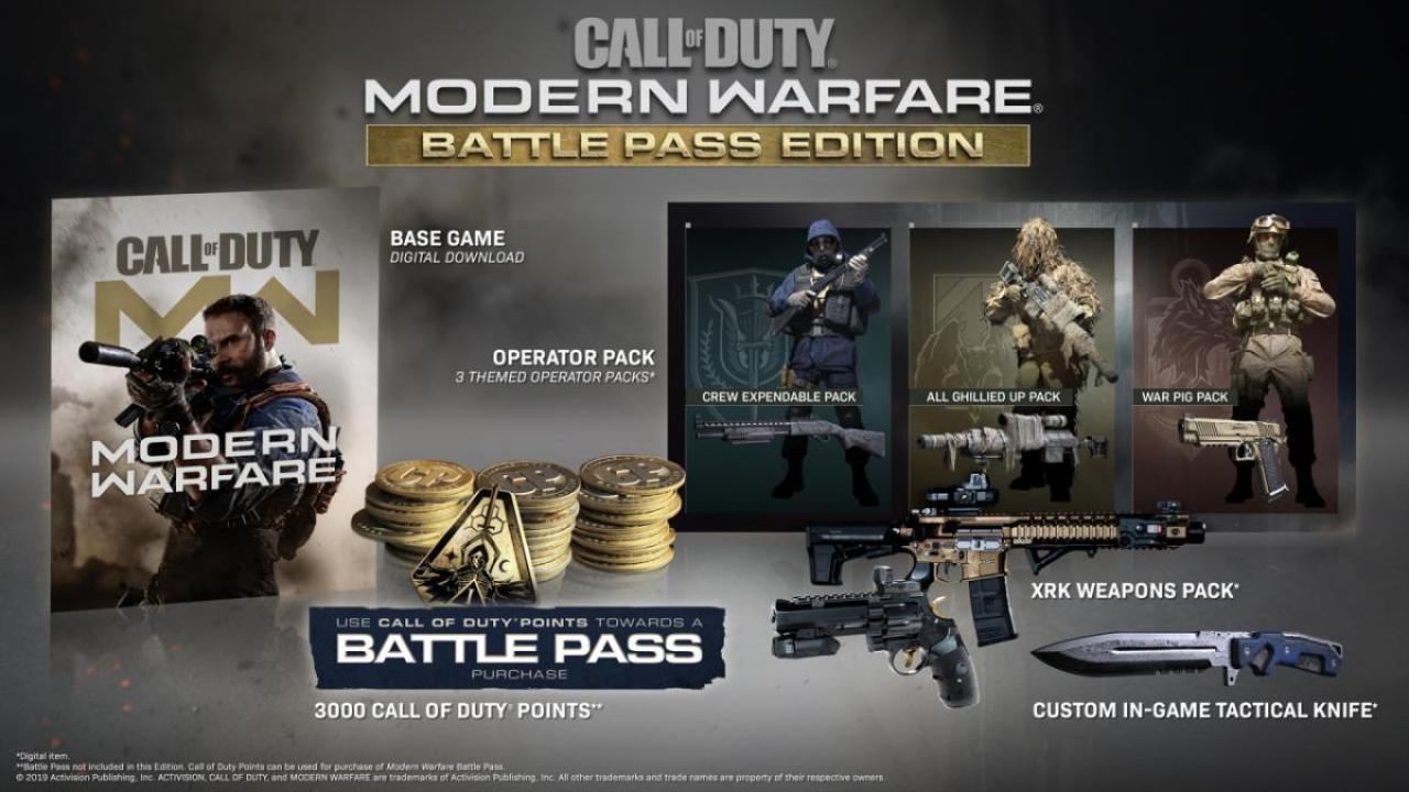 Modern Warfare Battle Pass Edition