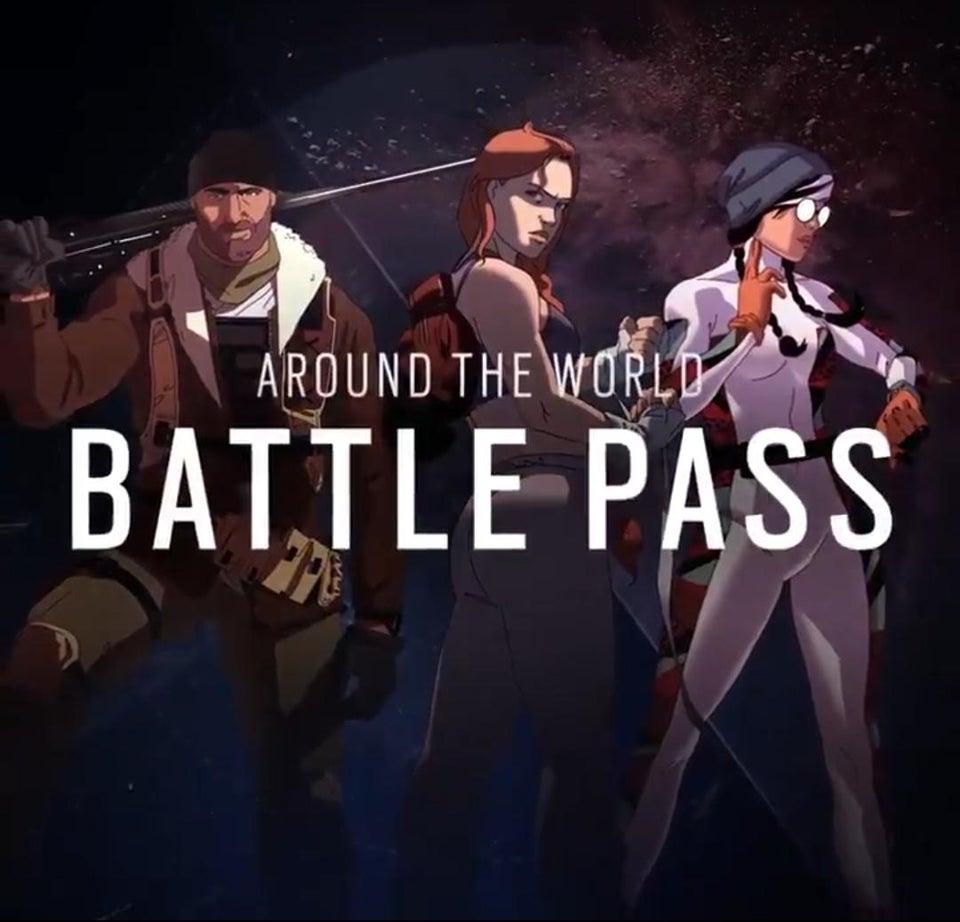 Around the world バトルパス