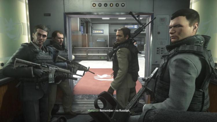 CoD:MW2R:ロシアでは発売しないことを決定(PS4版)