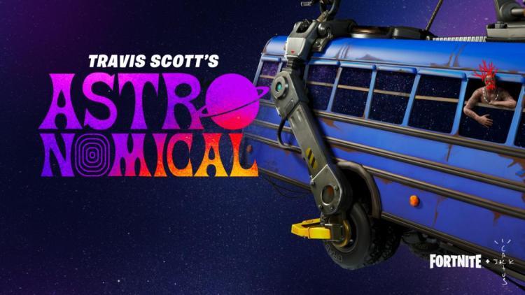 フォートナイト:世界的ラッパーのトラヴィス・スコットとコラボ決定、ゲーム内イベント「Astronomical」で新曲披露