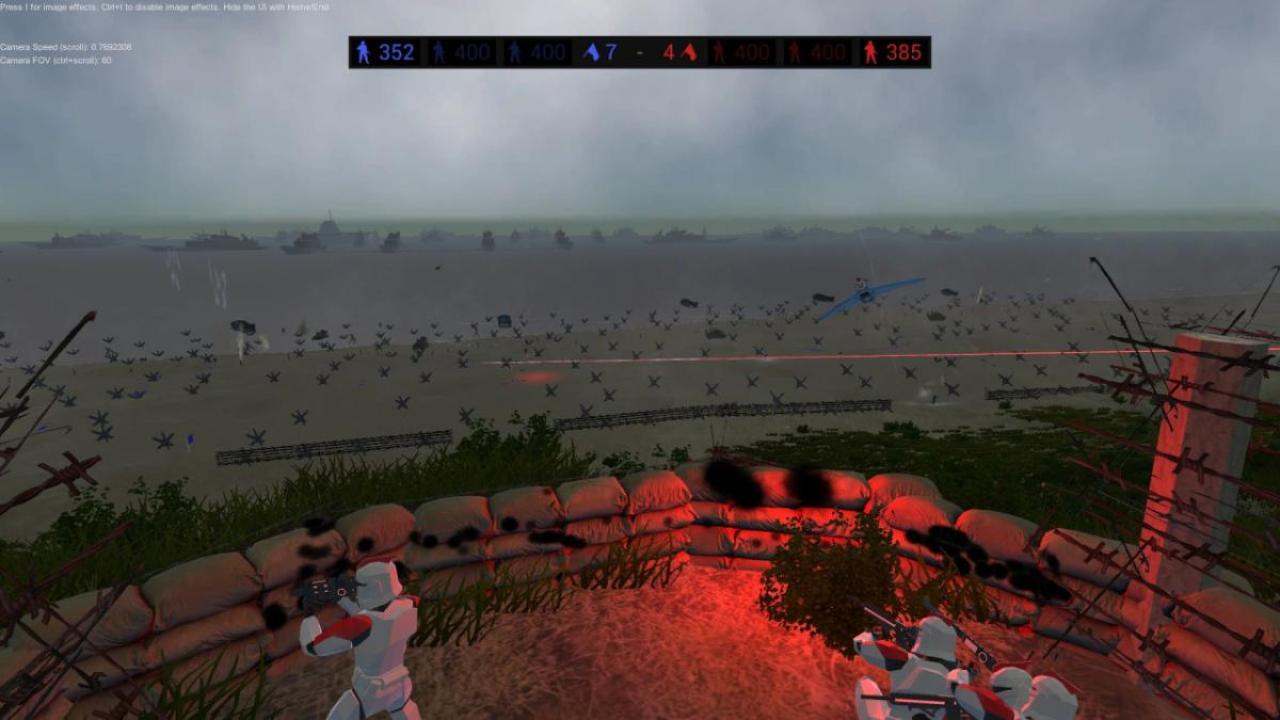 Ravenfield:1000人規模の大戦争!圧倒的好評の戦場サンドボックスが8月1日まで半額セール