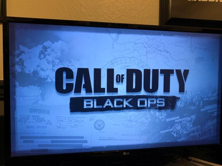 Call of Duty: Black Opsのローディングスクリーン