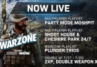 CoD:MW:「Shoot House & Cheshire Park 24/7」と「Plunder Trios」など追加、ダブルXPを7月18日から開始など