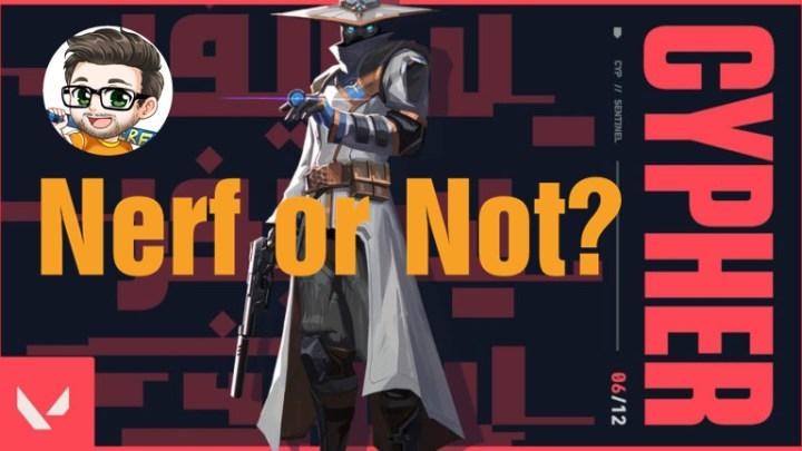 VALORANT(ヴァロラント): サイファーは将来のナーフ候補か、リード・キャラクターデザイナーが語る