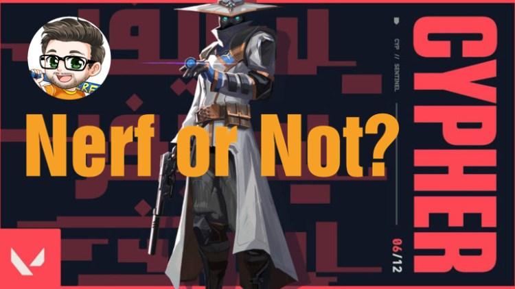 VALORANT(ヴァロラント): 強キャラ「サイファー」はナーフ候補か、リード・キャラクターデザイナーが語る