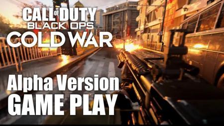 Call of Duty Black Ops Cold War マルチプレイヤー alpha アルファ