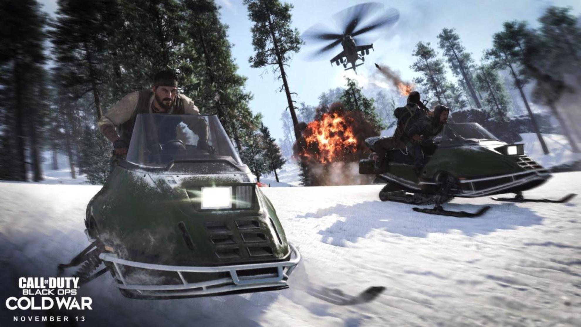 CoD:BOCW:『コール オブ デューティ ブラックオプス コールドウォー』PS5/PS4/Xbox Series X/Xbox One/PC版が本日発売