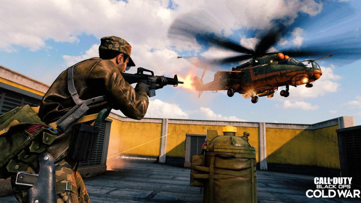 CoD:ウォーゾーン:透明グリッチ発生により攻撃ヘリ一時削除