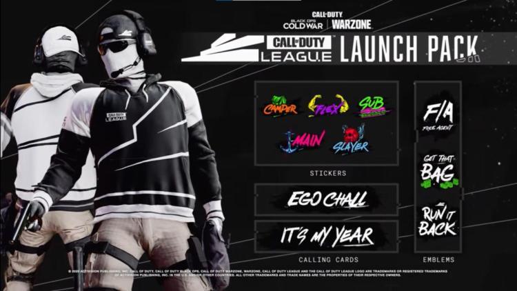 CoD:BOCW:「Call of Duty League – ローンチパック」が1,100円で販売開始、ホームとアウェイのオペレータースキンなどがセットに