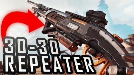 エーペックスレジェンズ:新武器「30-30 リピーター」の先行体験映像、ADSを続けるとチャージ可能