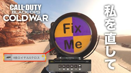 Call of Duty Black Ops Cold War theater BOCW Fix Me