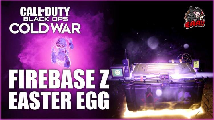 CoD:BOCW:ゾンビモード「Firebase Z」で無料でジャガーノグPerkが取得できるイースターエッグ