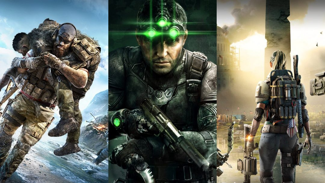 [噂] Ubisoftが新作PvPシューター開発中、『スプリンターセル』、『ゴーストリコン』、『ディビジョン』のクロスオーバー?