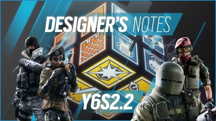レインボーシックス シージ:Y6S2.2デザイナーノート公開、Frost弱体化や/Tachankaさらに強化など4人に調整+武器2種調整など