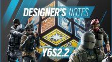 レインボーシックス シージ:Y6S2.2デザイナーノート公開、Frost弱体化 / Tachankaさらに強化など4人に調整+武器2種調整