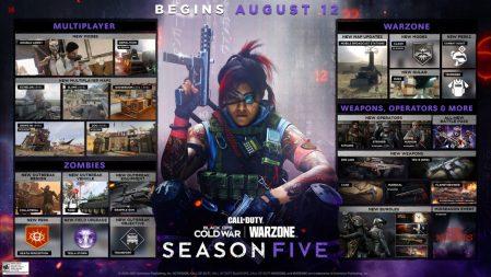 CoD:BOCW:シーズン5マルチの新コンテンツ、捜査形式の新モード「Double Agent」/新武器4種/新マップ5種など