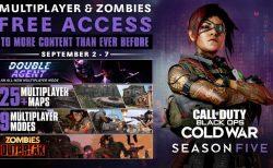 CoD:BOCW:マルチプレイヤーのゲームモード9種とゾンビモード「Outbreak」が全機種で無料開放!9月8日まで