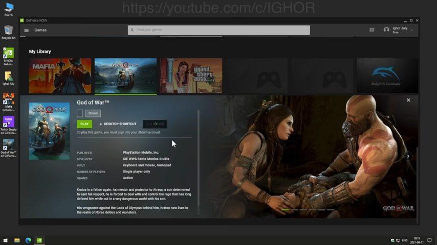 ゴッドオブウォーPC_While unlocking NVIDIA GeForce NOW I found Pirates_ 8-11 screenshot