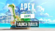 """エーペックスレジェンズ:シーズン11″エスケープ""""ローンチトレーラー公開、新たな戦場は熱帯の島/アッシュの戦闘シーンも"""
