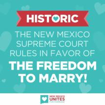 equal marriage new mexico