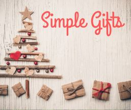 December 1 – Simple Gifts