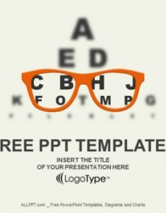 also optician vision of eyesight vector powerpoint templates rh free design