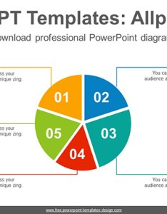 split pie chart powerpoint diagram template post image also rh free templates design