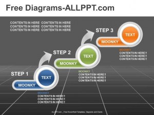 3 Step DiagramPowerPoint Template Daily Udates Download
