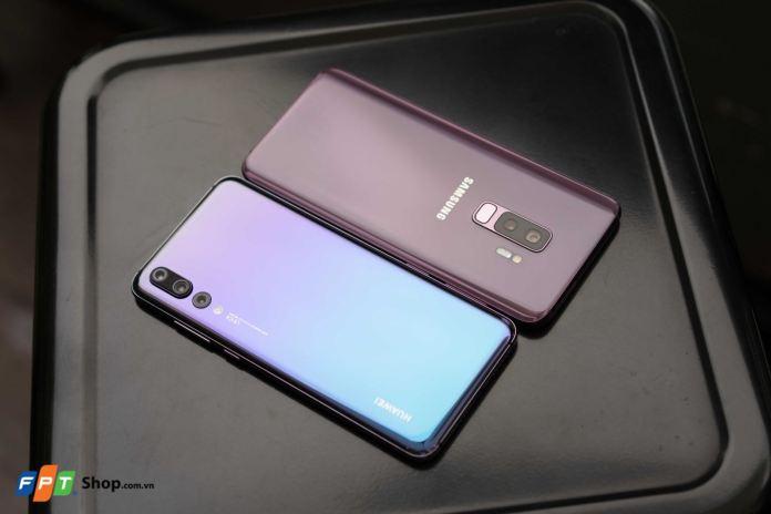 Đọ dáng Huawei Nova P20 Pro và Galaxy S9+