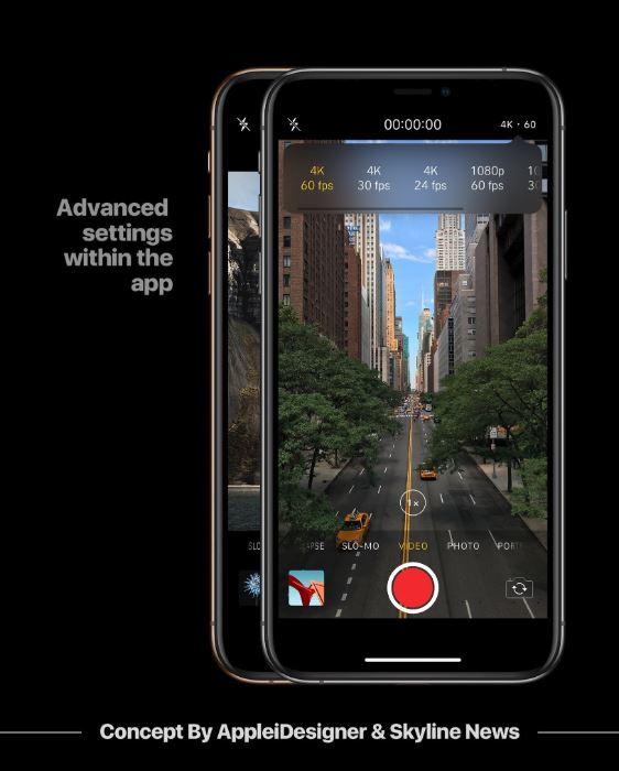 Ngắm giao diện tuyệt đẹp của Darkmode trên phiên bản iOS 13 8