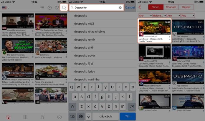 Những ứng dụng nghe nhạc YouTube cho iPhone sau khi tắt màn hình 2