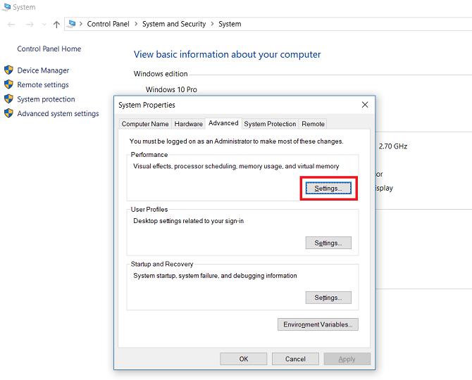 Hướng dẫn set RAM ảo cho máy tính cài đặt Windows 6