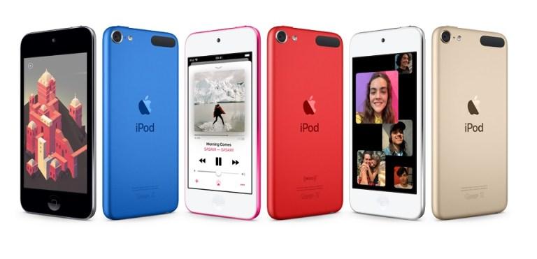 Apple iPod touch gen 6 vs gen 7 05